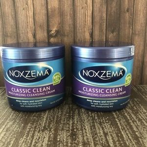 Noxzema Moisturizing Cleansing Cream Lot of 2